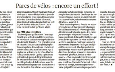 [Le Monde] Parc de vélos : encore un effort !