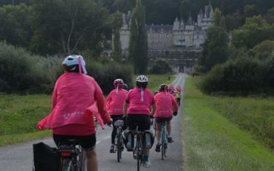 À la mer à vélo : elles ont parcouru la vallée de la Loire contre le cancer