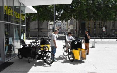 Métrovélo propose la première flotte publique de location de vélos-cargos en France
