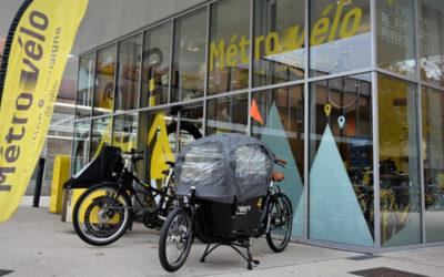 Après les triporteurs et les vélos allongés, les premiers biporteurs arrivent à Métrovélo