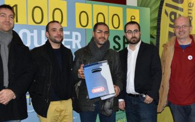 Devenu un indispensable service de mobilité, Métrovélo célèbre son 100 000e abonnement !