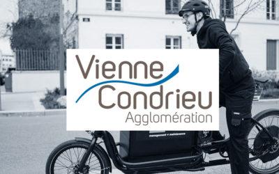 Vienne Condrieu Agglomération – Location et maintenance d'une flotte de vélos classique et de VAE