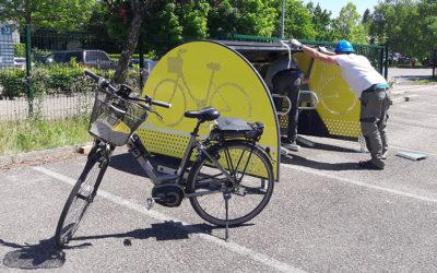 Vélogik va gérer les minibox, solution inédite de stationnement à Grenoble