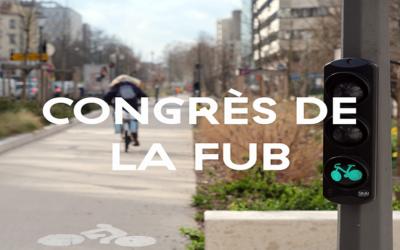 Vélogik partenaire officiel du congrès de la FUB le 10 mai au Mans