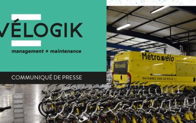 [Communiqué] Vélogik, le leader de maintenance vélo au service des grands exploitants