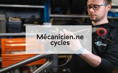 Fiche métier : Mécanicien.ne cycles