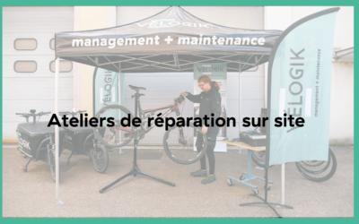 Ateliers de réparation sur site