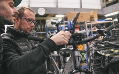 Estime et Vélogik s'associent pour créer un Atelier Chantier d'Insertion (ACI)