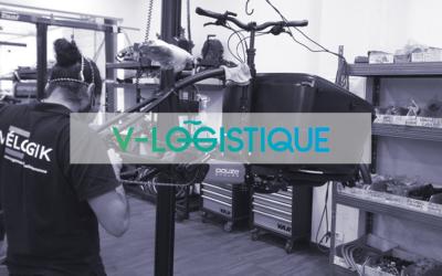 Vélogik effectue la mise à la route des vélos du programme V-logistique