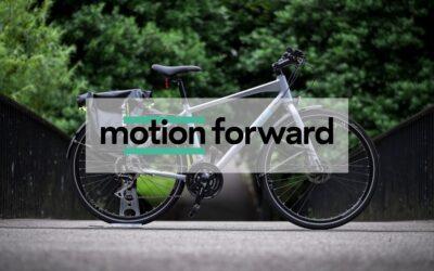Bike For Good and Vélogik create Motion Forward